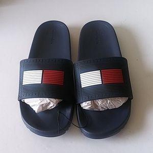 Tommy Hilfiger Men Slide on Sandal Size 12M
